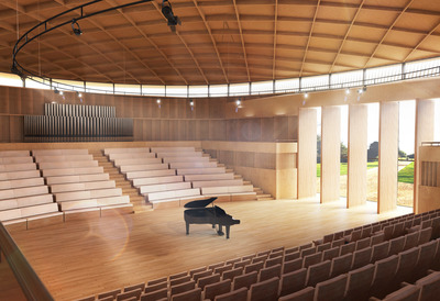 Benenden School Hall and Music School starts on site