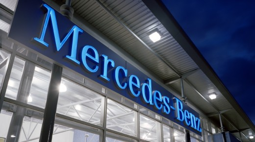 Mercedes Benz Dealership, Cribbs Causeway, Bristol
