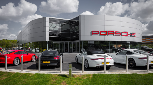 Gallions Park Porsche Centre, London