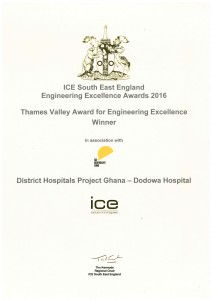 2016 ICE Thames Valley for Engineering Excellence