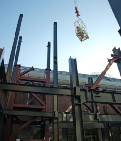New Energy Centre at Kensington Olympia – construction in full swing