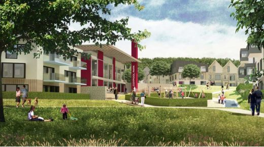 Homes England Coypool Park Planning Application submitted