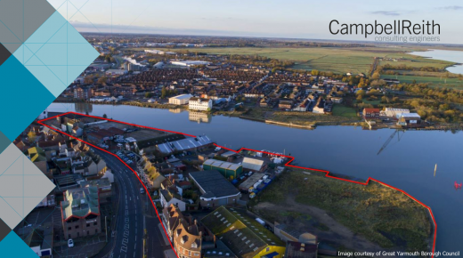 CampbellReith assists Great Yarmouth Borough Council to guide prospective developers