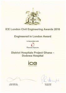 ICE London Award 2016 ghana