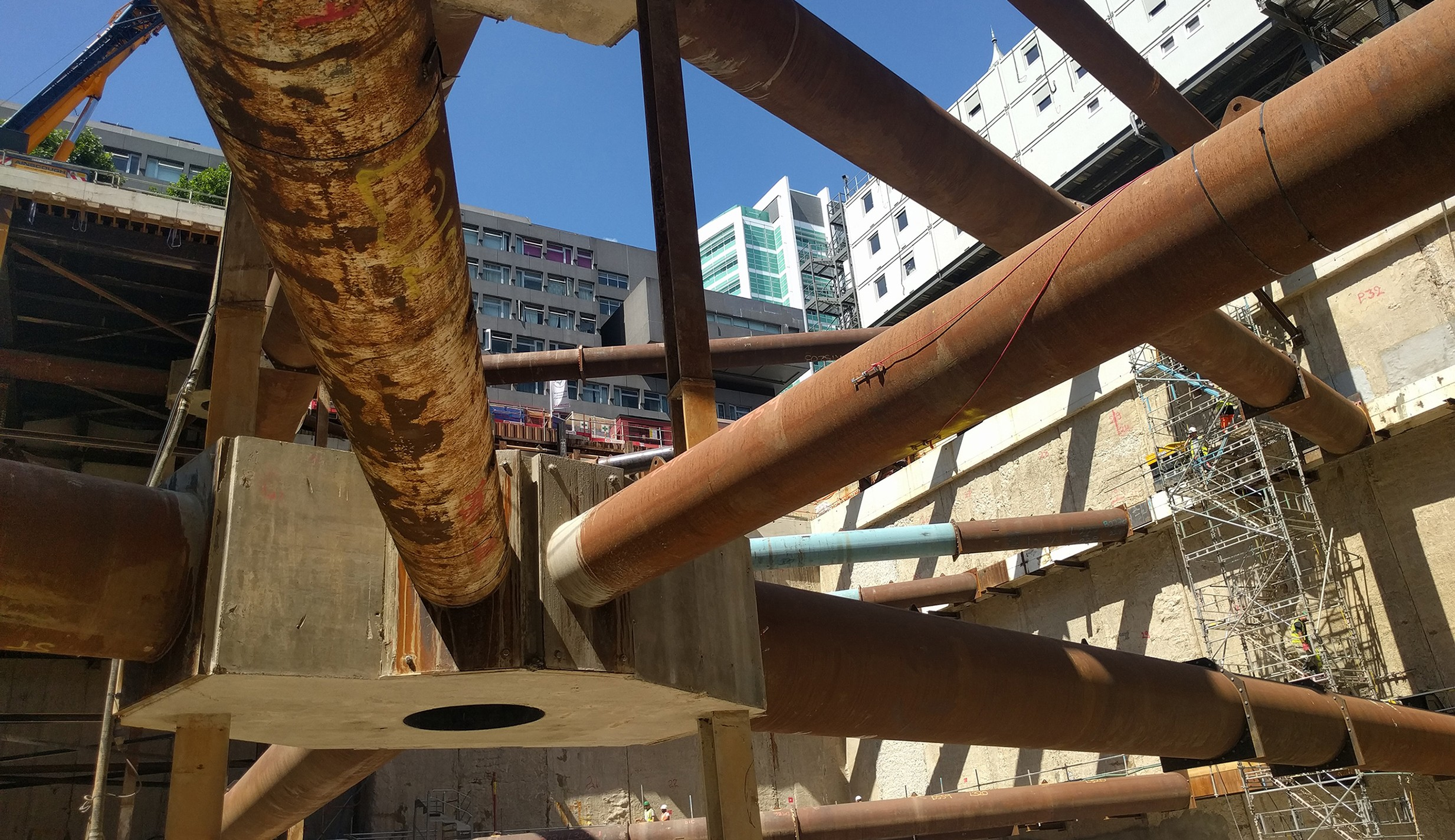 Excavation completed at the Proton Beam Therapy site in London