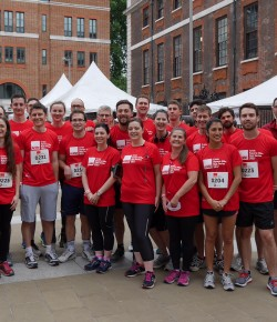 Square Mile Run, one more year supporting Crisis