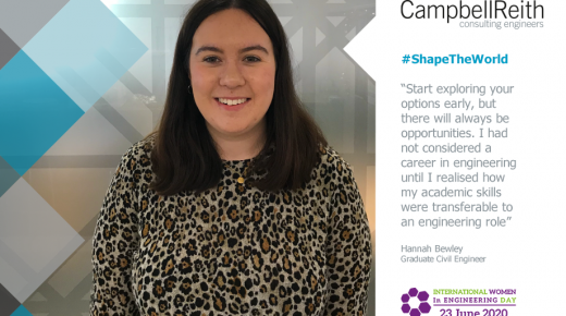 #ShapeTheWorld with Education and Investment in Talent: Hannah Bewley