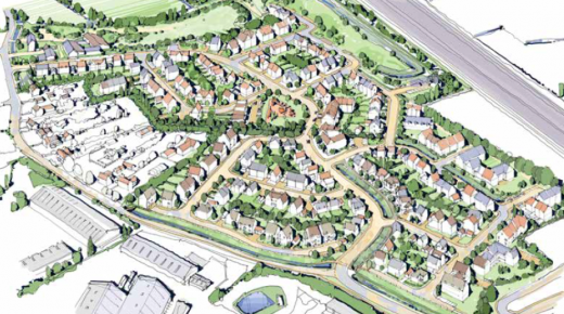 Planning approval obtained for 248 homes at Isleport Lane, Highbridge, Somerset