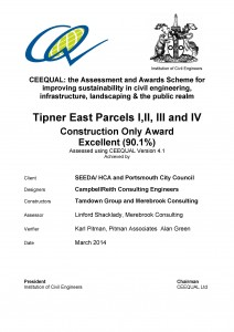 Tipner East Parcels III III and IV - Draft 1