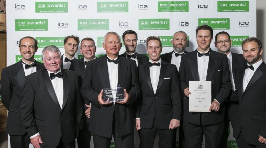North Bexhill Access Road awarded ICE Engineering Excellence Award
